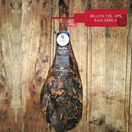Paleta de bellota ibérica 75% - 50% (Pieza)
